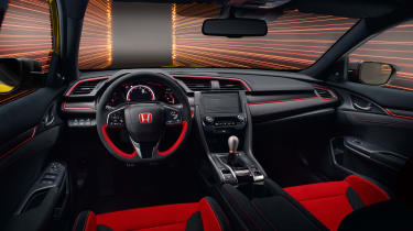 Honda Civic Type R Limited Edition interior