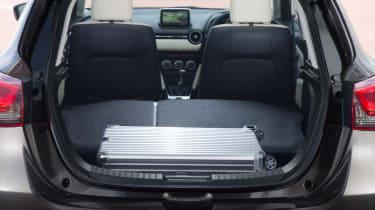 Mazda2 boot - seats down