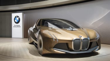 A 3 Series-sized concept was revealed as part of BMW's centenary celebrations
