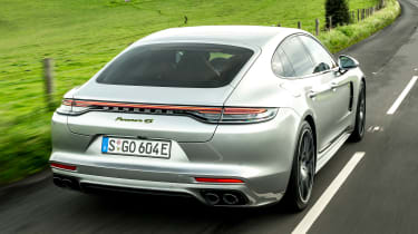 Porsche Panamera hatchback rear tracking