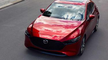 2019 Mazda3 hatchback front