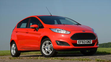 The Fiesta's short wheelbase means it's easy to maneuver around towns or cities and also very easy to park.