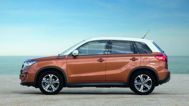 The Suzuki Vitara is available with petrol or diesel power and two or four-wheel drive