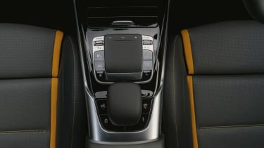Mercedes-AMG A 45 S hatchback - central console controls