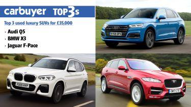 top 3 used luxury SUV