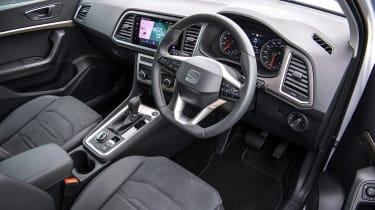 SEAT Ateca SUV dashboard
