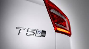 Volvo XC40 hybrid badge