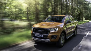2019 Ford Ranger Wildtrak - front 3/4 dynamic view