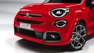 Fiat 500X Sport front end