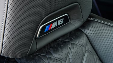 BMW M8 Competition coupe headrest