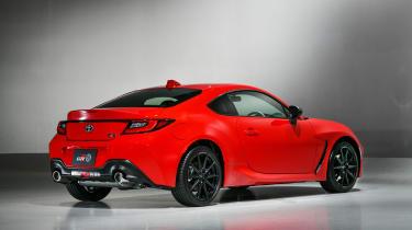 2021 Toyota GR86 - rear 3/4 view