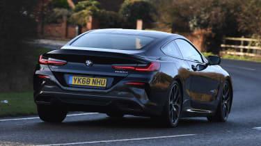 BMW 840d rear