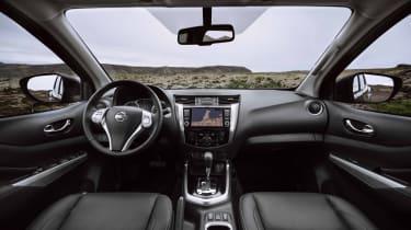 2019 Nissan Navara - interior wide angle