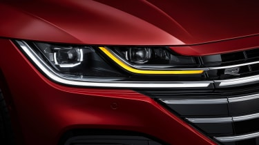 2020 Volkswagen Arteon hatchback - front light close-up