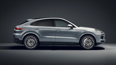 Porsche Cayenne S Coupe - side view