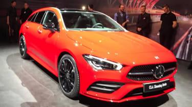 2019 Mercedes CLA Shooting Brake - Geneva - front