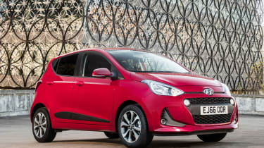 The five-door Hyundai i10 is a superb runabout, with five doors and five seats
