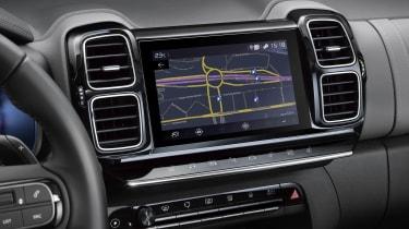 Citroen C5 Aircross plug-in hybrid - infotainment screen