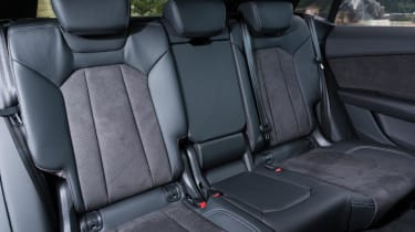 Audi Q8 S line - rear seats