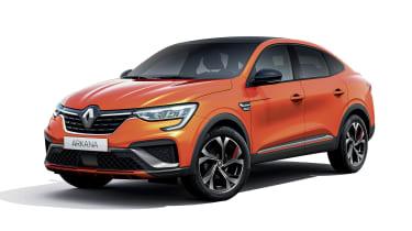 2021 Renault Arkana SUV front