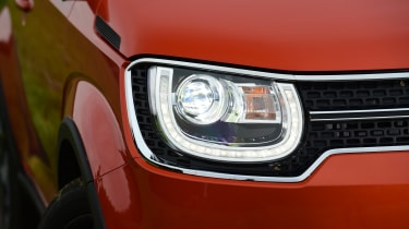 The Ignis has stylish looks, with characterful headlights and bright daytime running lights to help get you noticed