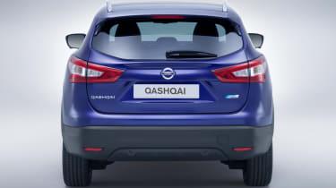 Nissan Qashqai 2014 rear static