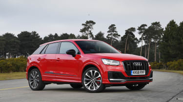 Audi SQ2 SUV side static