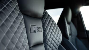 Audi RS3 sports seats
