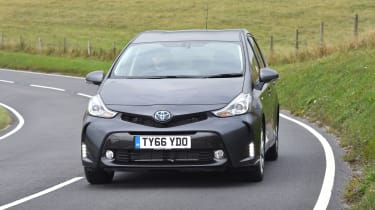 Toyota Prius+ MPV front cornering