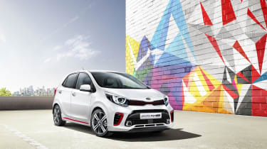 The all new Kia Picanto is due to be officially unveiled at the Geneva Motor Show, in March