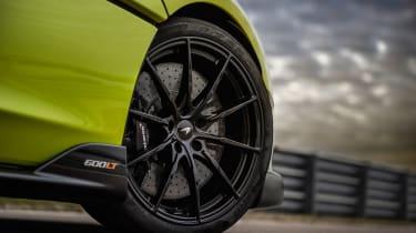 McLaren 600LT Spider convertible wheel