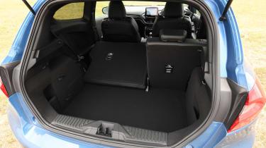 Ford Fiesta ST hatchback boot