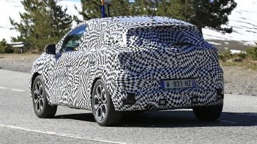 2020 Renault Captur hybrid - rear quarter two