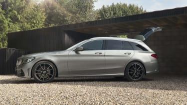 Mercedes C-Class Estate side static