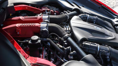 Ferrari Roma coupe engine