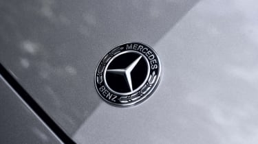 Mercedes C-Class Estate bonnet badge