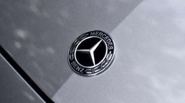 Mercedes C-Class Estate bonnet badge