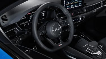 Facelifted Audi S4 - interior