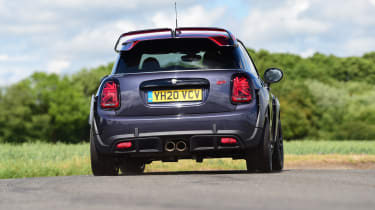 MINI JCW GP - rear 3/4 dynamic