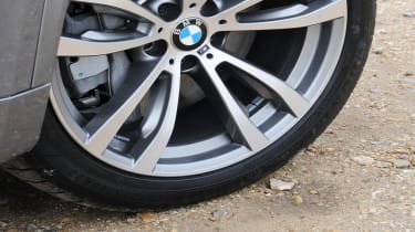 The top M Sport trim comes fitted with 19-inch alloy wheels, sports suspension and a body kit