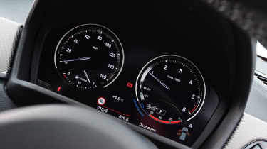 BMW X2 SUV instruments