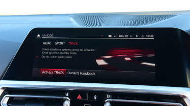 BMW M4 Coupe settings