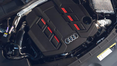 Audi S4 Avant estate engine