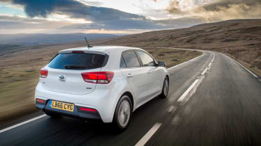 The Kia Rio is likely to serve as reliable family transportation