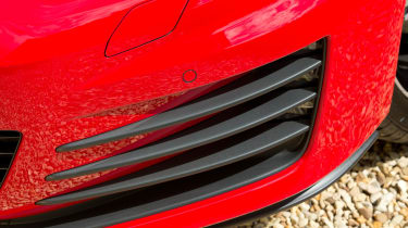 2017 Volkswagen Golf GTI bumper strakes