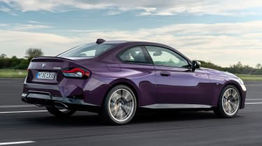 2021 BMW 2 Series Coupe - rear