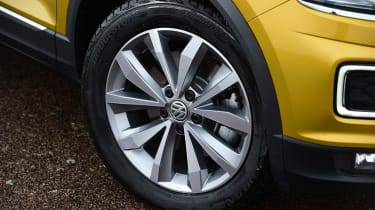 Volkswagen T-Roc SUV alloy wheel
