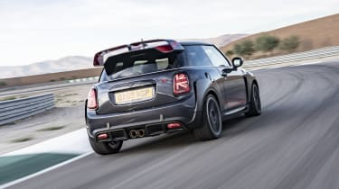 MINI John Cooper Works GP - rear 3/4 dynamic