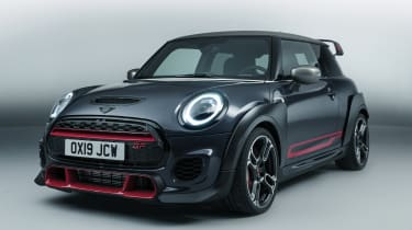 MINI John Cooper Works GP - front 3/4 view studio