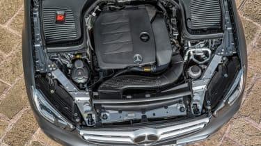 2019 Mercedes GLC SUV - engine bay